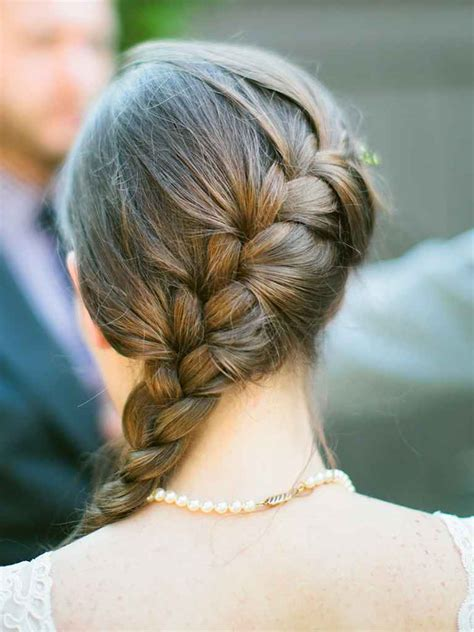 Wedding Hair With A Braid by 15 Braided Wedding Hairstyles For Hair