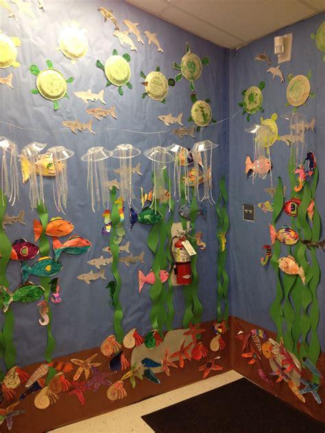 libro arts crafts 3 completed ocean quot aquarium quot with ocean animals we are so do