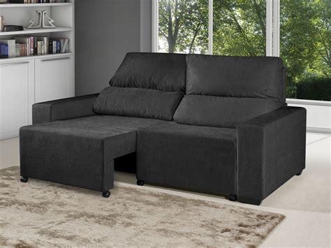 sofa retratil e reclinavel sof 225 retr 225 til e reclin 225 vel 3 lugares suede montana