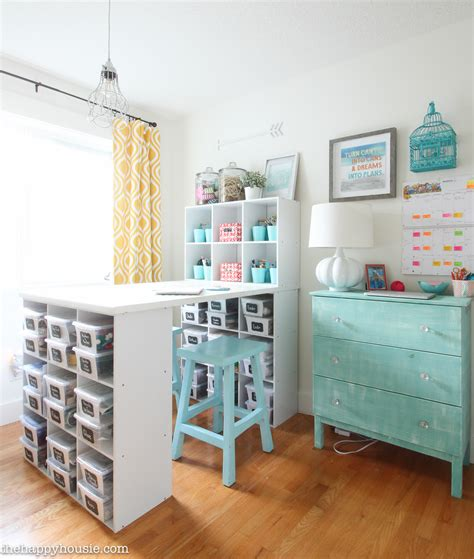 crafts for bedroom how to organize a craft room work space the happy housie