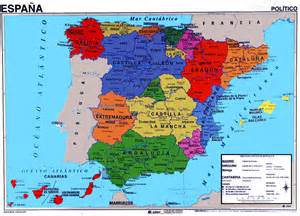 Political Map Of Spain by Pics Photos Spain Map Hd