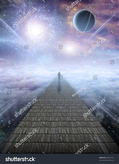 Journey Of The Soul mans journey of the soul stock photo 85441516