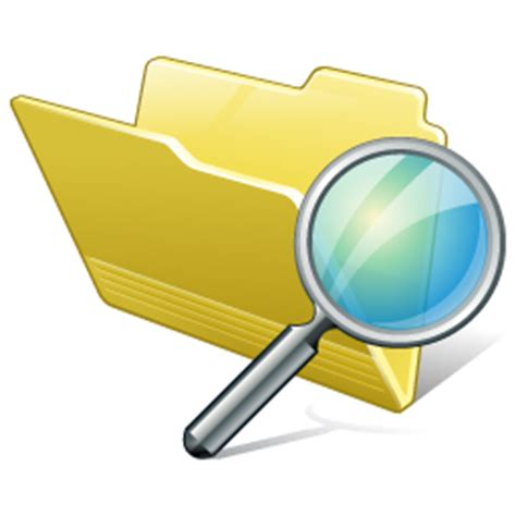 Id Search Folder Search Icon 256x256px Ico Png Icns Free Icons101