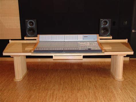Custom Music Studio Console Steven Klein S Sound Control Studio Console Desk