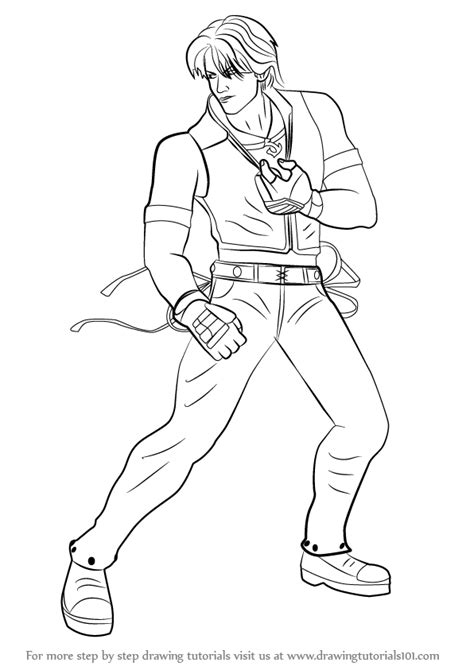 Tekken 7 Coloring Pages by Learn How To Draw Chaolan From Tekken Tekken Step By