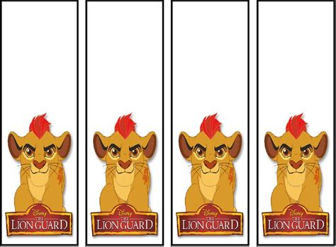 printable lion bookmarks 17 best images about the lion guard printables on
