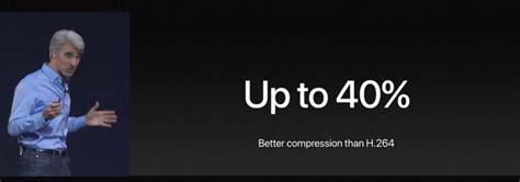final cut pro h 265 macos high sierraはh 265ビデオをサポートするが final cut proでの編集がまだ不能