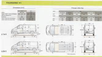 Dimensions Of Renault Trafic Renault Trafic Passenger 9 Places Dimensions
