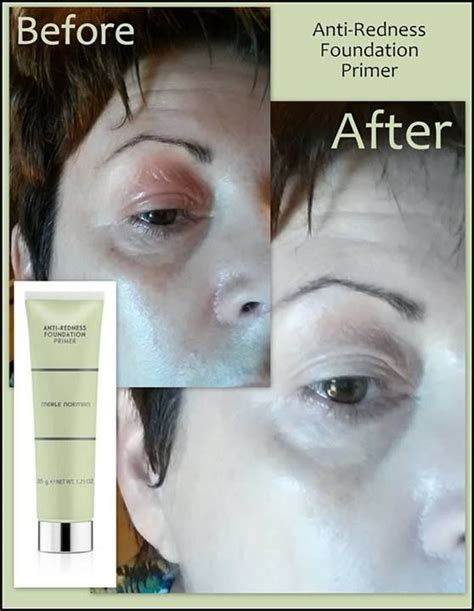 Foundation Ranee merle norman anti redness foundation primer renee used only this primer and the redness and