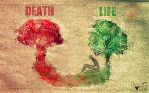 life and death in death and life by gamuart on