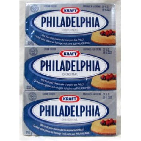 Cheese 250 Gram cheese philidelphia brand cheese 3 x 250 grams