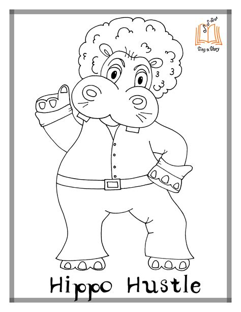 monster manners coloring page coloring pages archives sing a story