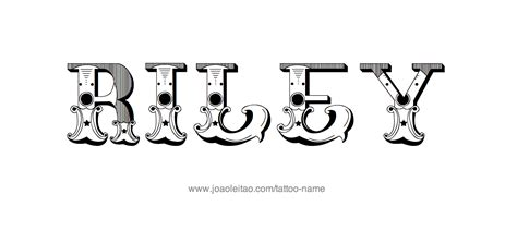 riley name tattoo design name designs