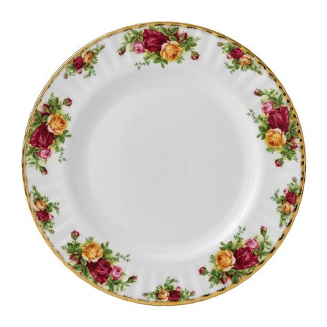 country roses dinner plate royal albert us - Country Dinner Plates