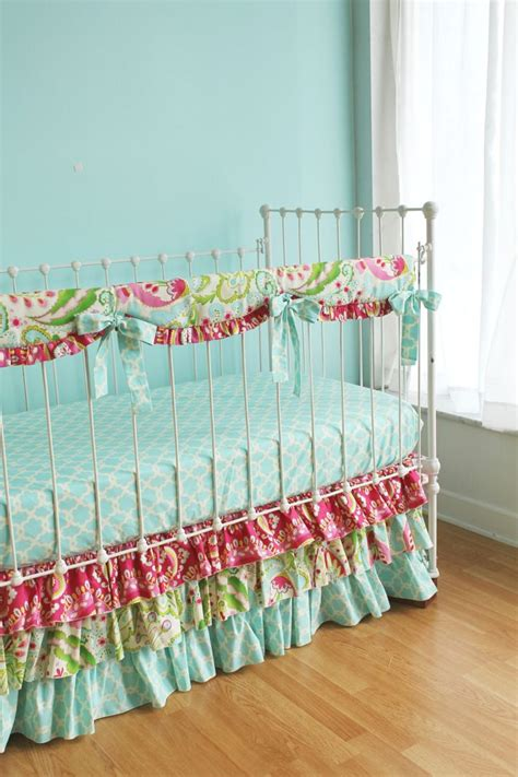 pink and blue crib bedding baby nursery fascinating baby girl nursery room
