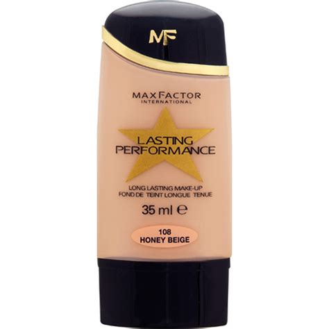 Foundation Max Factor max factor lasting performance foundation various shades