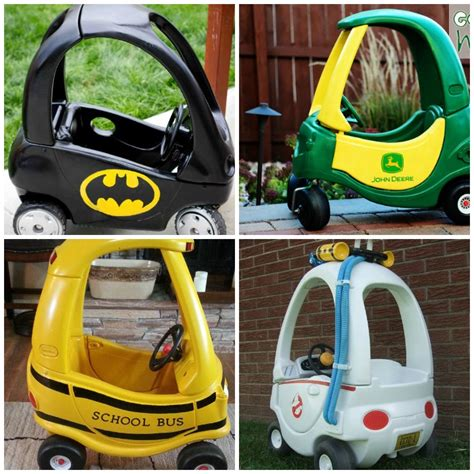 cer makeover ideas 21 cozy coupe hacks to make over your kid s ride glue