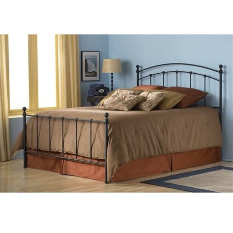 black poster bed fashion sanford metal poster w frame black matte finish