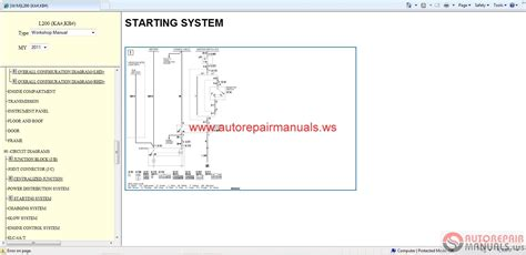 car engine manuals 1991 mitsubishi truck parking system mitsubishi l200 2011 service manual auto repair manual forum heavy equipment forums