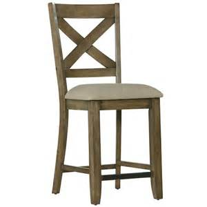 Standard Bar Stool Height Standard Furniture Omaha Grey Counter Height Bar Stool With X Back Wayside Furniture Bar Stools
