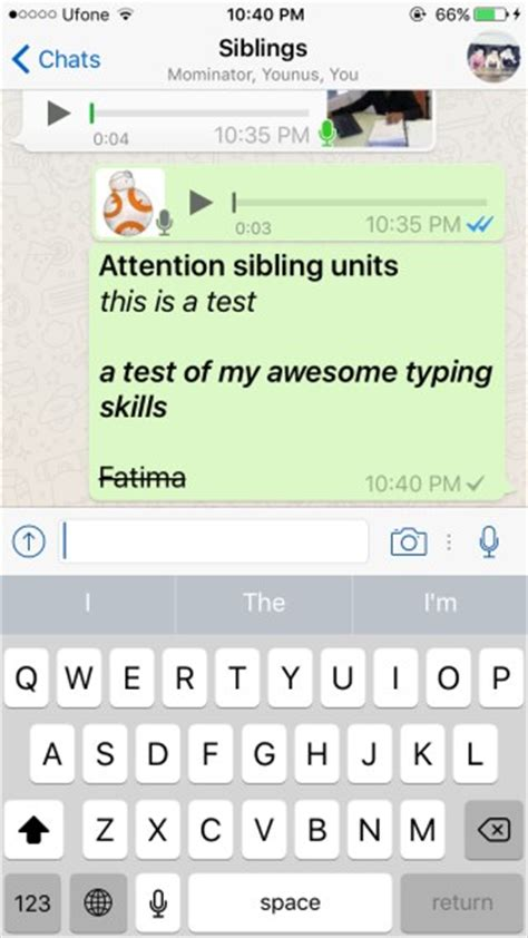 format whatsapp font how to use the text formatting features in whatsapp