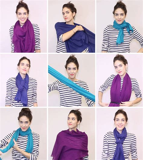 Draping Fabric For Weddings How To Tie A Scarf With Gifs 18 Ways To Tie A Scarf