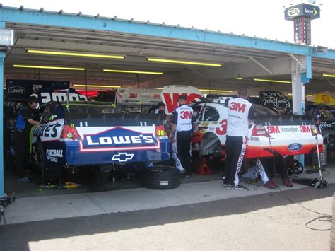 Nascar Garage by Nascar Garage Sat Morning 2963 Presssnoop