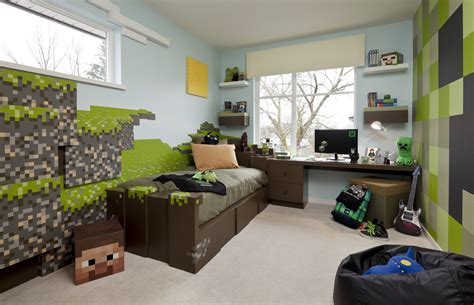 Minecraft Bedroom Ideas In House Made Of Paper