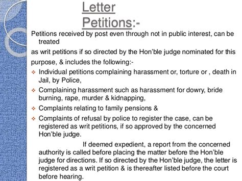 Petition Against Letter How To Write Petition Letters