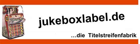 Beschriftung Jukebox by Titelstreifen Singlearchiv Motive Meine Singles 0 Mein