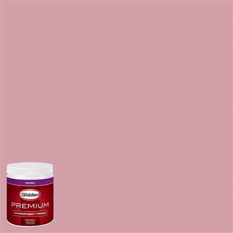 home depot paint pink glidden premium 8 oz hdgr19d quartz pink eggshell
