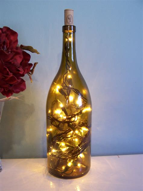 How To Make Wine Bottle Lights by 404 Not Found