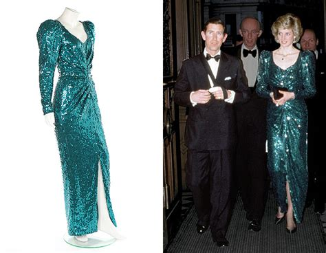 Longdress Diana Back princess diana s glitzy gown expected to fetch 163 100 000 at