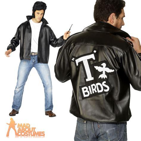 mens t bird grease jacket mens grease t bird jacket danny t bird mens fancy dress