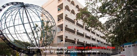 Mit Kothrud Mba by Mit School Of Telecom Management Pune Mitsot Pune Mba Fess