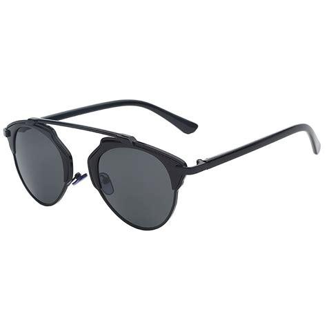Kacamata Wanita Semi 3 maxglasiz kacamata hitam vintage sunglasses untuk pria wanita black black jakartanotebook