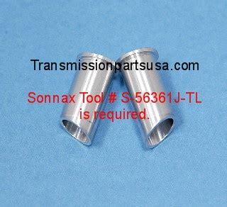 5r55n 5r55s 5r55w Transmission Servo Pin Bore Sleeve Kit