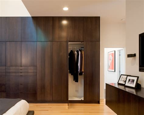modern w a side of ranch modern closet kansas city by hufft projects