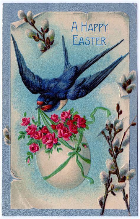 vintage clip art  fabulous easter cards  graphics