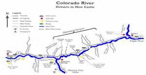 colorado river fishing map colorado river