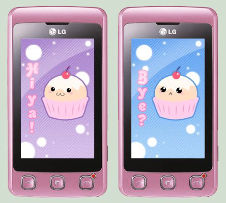 cute themes for lg mobiles kawaii greeting on lg cookie by sorceressdream on deviantart