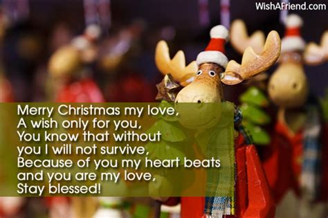 christmas messages  boyfriend