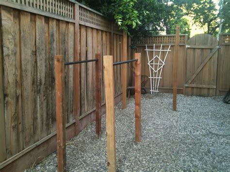 Backyard Pull Up Bar Plans building outdoor pull up bar and parallel bars ivo
