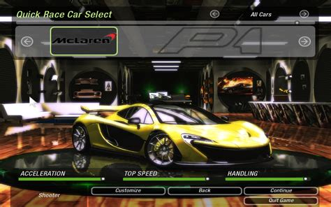 mod speed game online need for speed underground 2 mclaren p1 nfscars