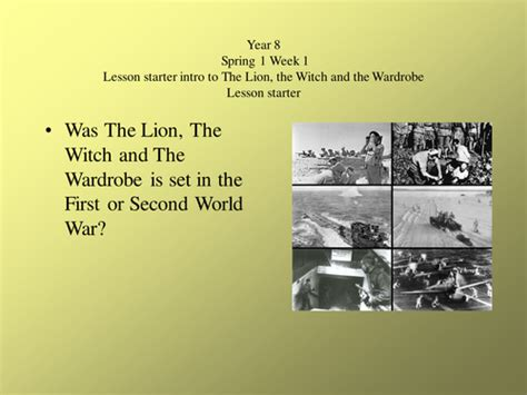 The The Witch And The Wardrobe Ks2 Resources by The The Witch And The Wardrobe By Sara2007