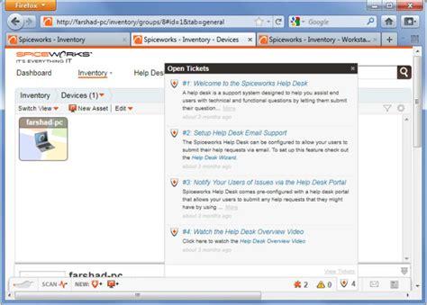 Spiceworks Help Desk Setup by Create A Free Helpdesk Portal With Spiceworks It Desktop