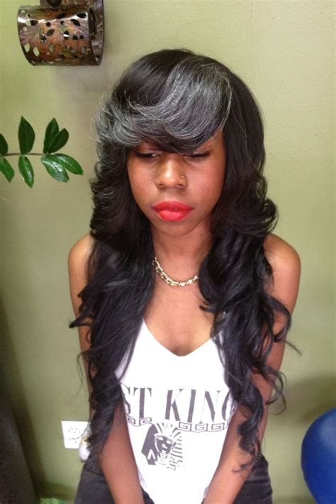 side bang weave full head weaves with side bangs