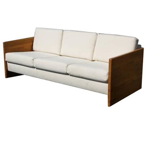 block sofa vintage jerryll habegger butcher block sofa couch at 1stdibs
