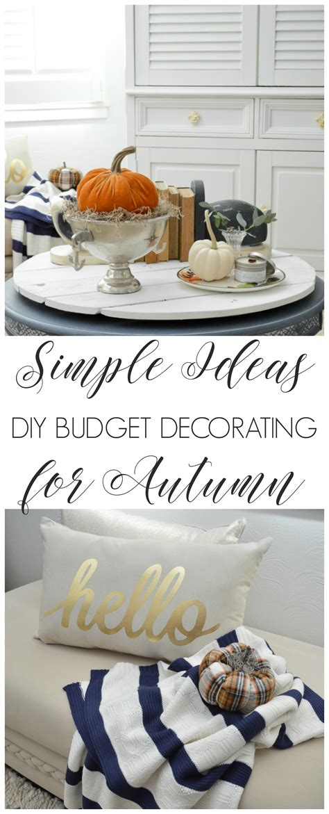 simple diy ideas fall home tour fox hollow cottage