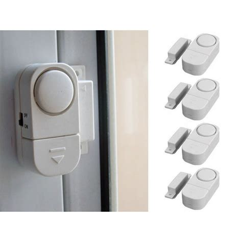 wireless home window door entry burglar security alarm
